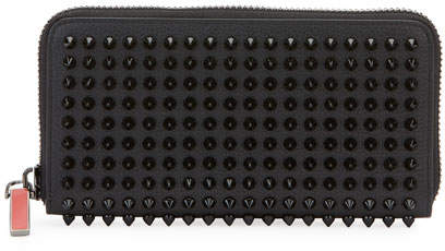 Christian Louboutin Men's Panettone Studded Leather Wallet