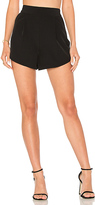 Milly Cady Petal Short in Black. - size 0 (also in 4)