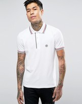 Love Moschino Polo With Badge Logo