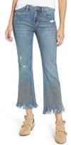 Blank NYC Women's Blanknyc Studded Crop Flare Jeans
