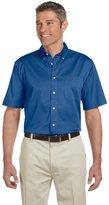 Chestnut Hill 32 Singles Short-Sleeve Twill Shirt