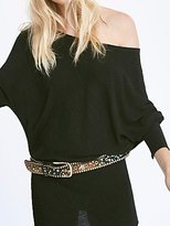 Free People Evie Embellished Belt