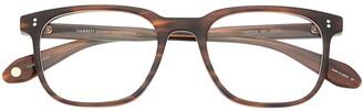 Garrett Leight Emperor square-frame glasses