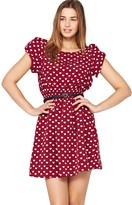 Heart Print Day Dress