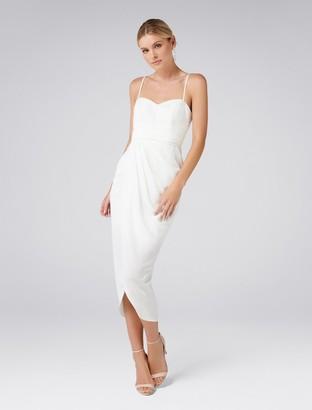 Ever New Whitney Sweetheart Drape Maxi Dress