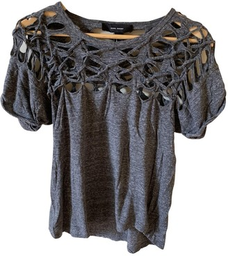Isabel Marant Grey Cotton Top for Women