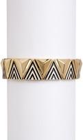 Jessica Simpson Pattern & Raised Detail Stretch Bracelet