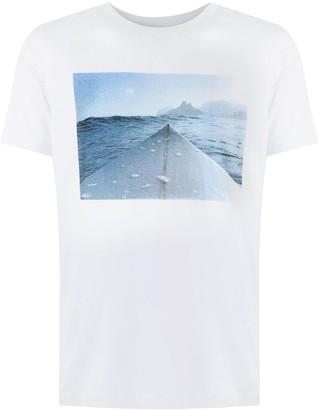 OSKLEN Stone Vintage Board print T-shirt