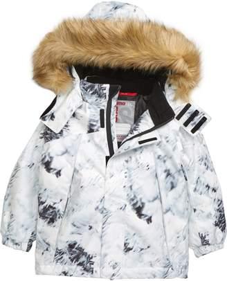 Reimatec Waterproof Winter Jacket with Faux Fur Trim