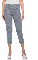 zac & rachel Petite Printed Ultimate Fit Pants