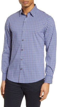 Zachary Prell Classic Fit Check Button-Up Shirt