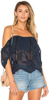 Lovers + Friends Life's A Beach Top in Navy