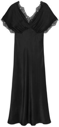 Arket Lustrous Satin Dress