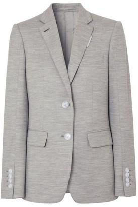 Burberry Wool Jersey Blazer