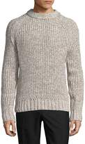 J. Lindeberg Men's Twist Braided Wool Sweater