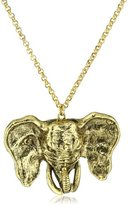 Yochi Good Luck Elephant Necklace