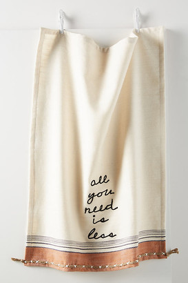 Anthropologie All You Need Is Less Dish Towel By in Assorted Size DISHTOWEL