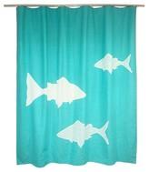 Threshold Shower Curtain - Fish