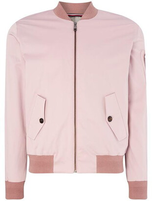 Tommy Hilfiger Tailoring Cotton Bomber Jacket