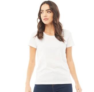 Fluid Womens Basic T-Shirt White