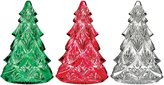 Waterford Crystal 3-Piece Mini Christmas Tree Figurine Set
