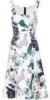 Erdem Tate Printed Dress