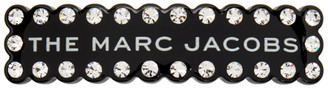 Marc Jacobs Black Crystal The Scalloped Barrette
