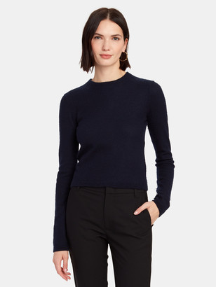 Vince Fitted Cashmere Crewneck Sweater
