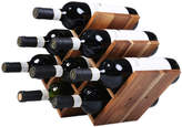 8 Bottle Acacia Wood Wine Rack