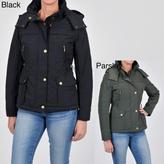 Weatherproof Women's Jacket with Detachable Hood