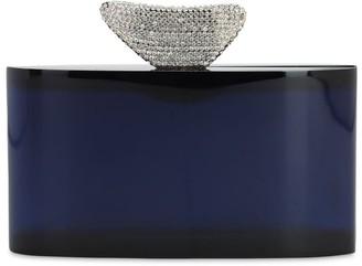 Benedetta Bruzziches Medea Plexiglas Clutch W/ Crystals