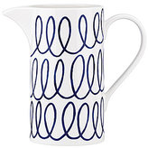 Kate Spade Charlotte Street Swirl Porcelain Pitcher