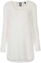 Topshop **Premium Fluffy Jumper by Unique