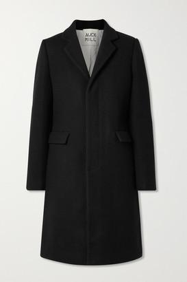 Alex Mill Brittany Wool-blend Coat - Black