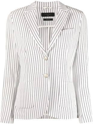 Circolo 1901 Striped Tailored Blazer