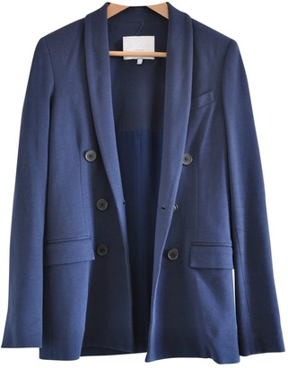 Adam Lippes Blue Wool Jacket for Women