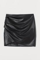 Thumbnail for your product : H&M Draped mini skirt