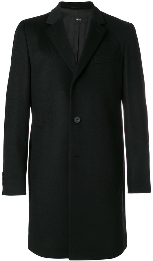 HUGO BOSS classic single-breasted coat