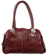 Chloé Quilted Patent Leather Shoulder Bag