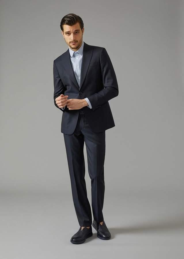 Giorgio Armani Virgin Wool Soho Suit