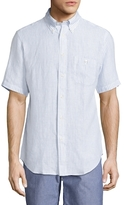 Brooks Brothers Striped Short Sleeve Sportshirt