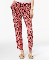 MICHAEL Michael Kors Petite Printed Soft Pants, a Macy's Exclusive Style