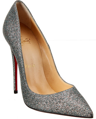 Christian Louboutin So Kate 120 Glitter Pump