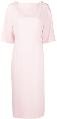 Valentino Bow-Embellished Shift Dress