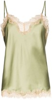 Sainted Sisters Sage vintage style lace camisole