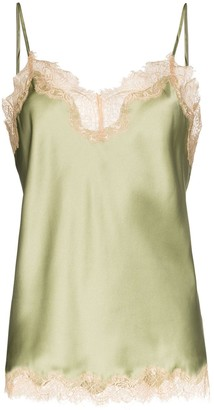 Sainted Sisters Sage vintage-style lace camisole