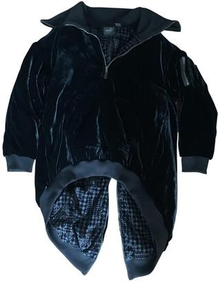 FENTY PUMA by Rihanna Black Velvet Jacket for Women