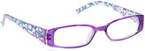 Fantas-Eyes Purple Geometric Rectangle Readers