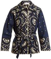 RED Valentino Paisley-print canvas jacket
