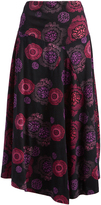 Aller Simplement Pink & Purple Floral Maxi Skirt